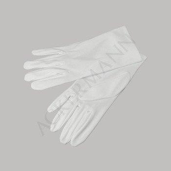 Guanto da cerimonia in cotone bianco